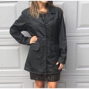 Colebrook & Co. Outerwear Black Button Up Jacket